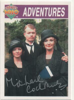 """Dr Who Black Orchid Card No.267 Auto by Michael Cochrane """"Lord Cranleigh"""""""
