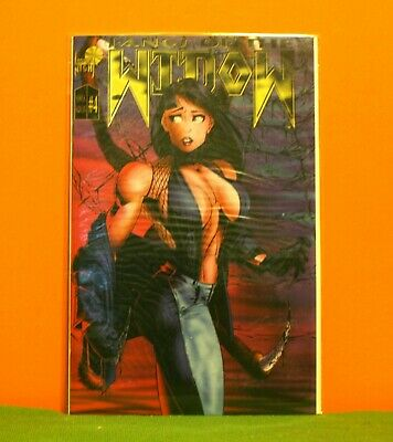 Fangs Of The Widow #4 1995 *Sexy Cover* *Buy 1 Comic Get 1 Free +Free Ship