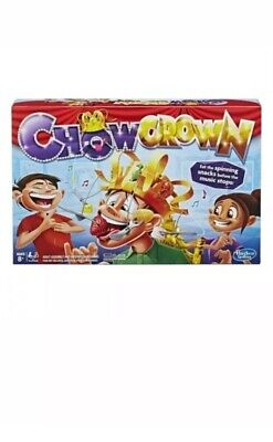 Chow Crown Game Family Fun Time Interactive Party Games Food Challenge Kids Gift