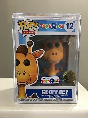 Funko Pop! Ad Icons Geoffrey The Giraffe Sealed #12 Toys R Us Excl W/ Hardstack!