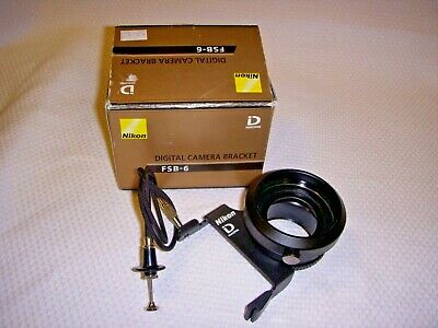 Nikon FSB-6 Digital Camera Bracket adapter for Nikon Digiscope
