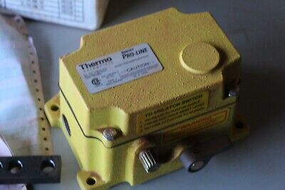 THERMO SCIENTIFIC RAMSEY PRO-LINE Safety Pull Switch SPS-2D Yellow, MN1