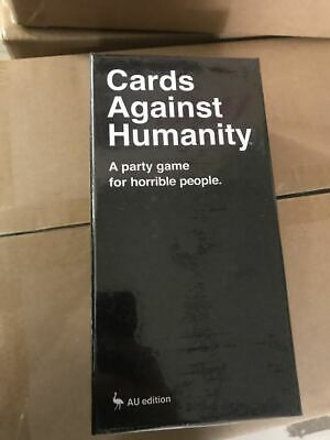 Cards Against Humanity 600 cards Australian Edition 2.0 Main Set Free Shipping S