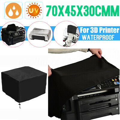 Black Polyester-cotton Fiber Printer Dust Cover 18X16x10/'/' for Workforce WF-3620