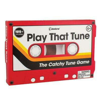 Paladone Play That Tune Music Guessing Quiz Family Dinner Party TV Card Game