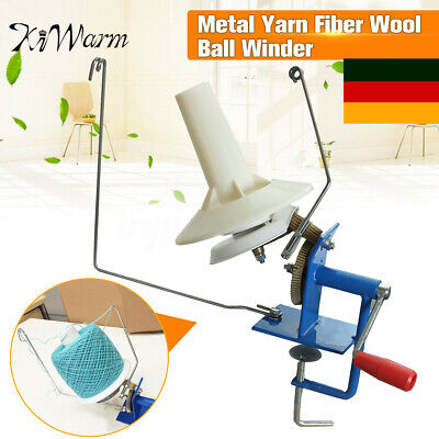 Wollwickler Knitting Wool Winder Hand Strickmaschine Garnwinder Kreuzwickler