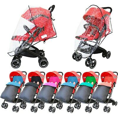 Premium Pushchair Footmuff / Cosy Toes And Raincovers