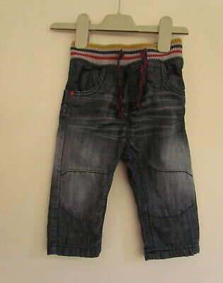 NEXT Baby Boys Fully Lined Soft Waistband Jeans age 9-12 mths