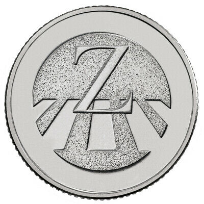 A-Z (2018) ALPHABET 10p - LETTER (Z) ZEBRA CROSSING (UNCIRCULATED)
