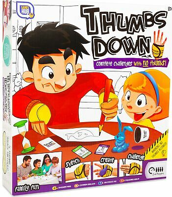 Thumbs Down Complete Challenge With No Thumbs Family Fun Kids Board Game
