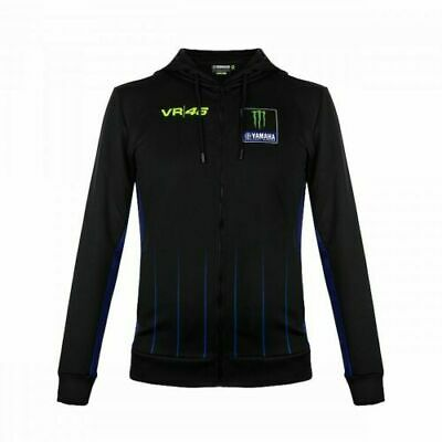 NEW 2020 Valentino Rossi VR46 Moto GP M1 Power Line Yamaha Hoodie OFFICIAL