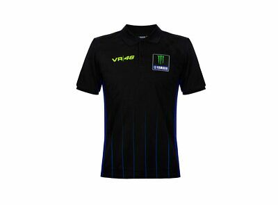 NEW 2020 Valentino Rossi VR46 Moto GP M1 Power Line Yamaha Polo Shirt OFFICIAL