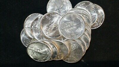1986 American Silver Eagle 20 Coin Roll HAND PICKED GEM Coins IN U.S. MINT TUBE!