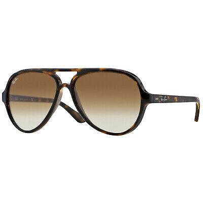 New Ray Ban Rb4125 710/51 Tortoise/Brown Authentic Sunglasses 59-140