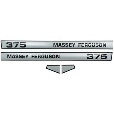3900321M92 Massey Ferguson MF Tractor 375 Hood Decal Set