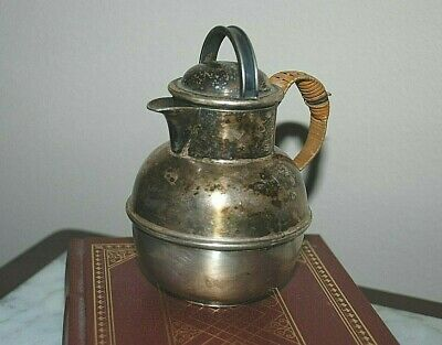 Antique Old PAIRPOINT Sheffield Miniature Serving Pitcher Creamer Silver Plate
