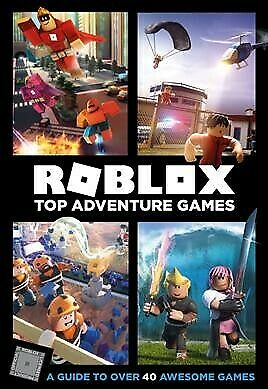 Roblox Top Adventure Games, Hardcover by Wiltshire, Alex; Jelley, Craig, Like...