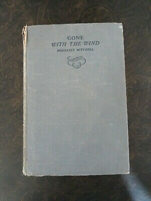 Gone With the Wind - Margaret Mitchell First Edition October 1938 MacMillan