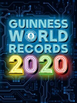 Guinness World Records 2020, Hardcover by Guinness World Records (COR), Brand...