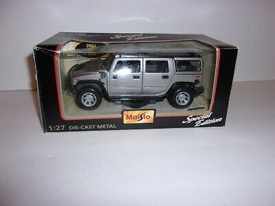 Maisto Special Edition Hummer Vehicle 1:27 Scale Die Cast