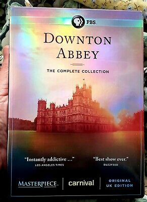 DOWNTON ABBEY the Complete Series Collection on DVD 1-6 Season 1 2 3 4 5 6 watch