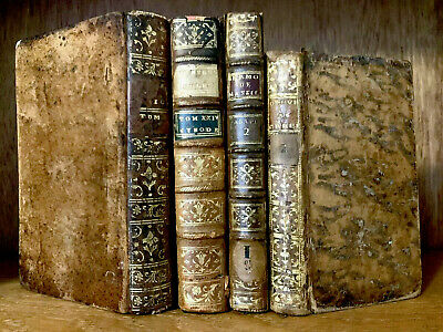 LOT OF ANTIQUE BOOKS 1700s