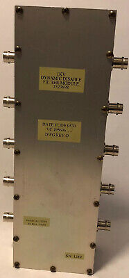 2323698 Dynamic Disable Filter Module 1KV Discovery MRI Scanner VC 495696