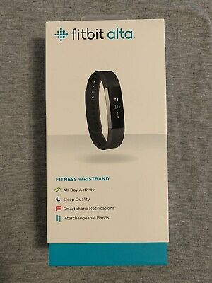 Fitbit Alta Activity Tracker & Sleep Tracking Fitness Wristband Navy Small