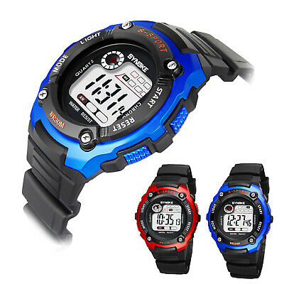 Men Women Quartz Analog Digital Waterproof Watch Stainless Steel Date Wristwatch