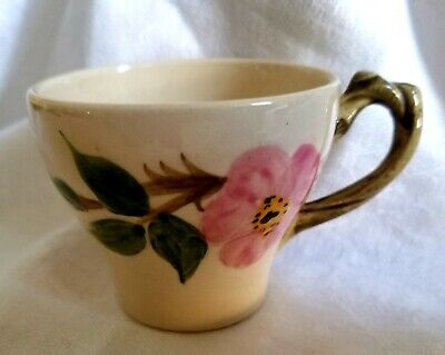 Vintage Franciscan China DESERT ROSE Demitasse Cup