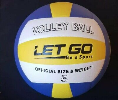 LetGo Volleyball Ball Size5 PU Leather Soft Touch Indoor Game