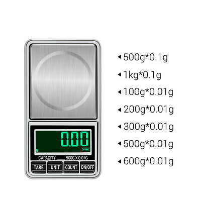 Portable Digital Scale Gold Jewelry Scale Mini Pocket Digital Scale A4R4