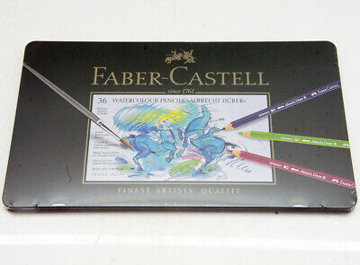 Faber Castell 36 Watercolour Pencils Albrecht Dürer Buntstifte Aquarellstifte