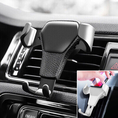 Gravity Car Air Vent Mount Cradle Holder Stand for iPhone Mobile Cell Phone UK