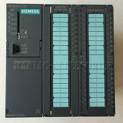 1pc used Siemens 6ES7 314-6CF01-0AB0 PLC Module fully tested