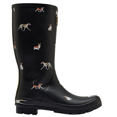 Womens Joules Roll Up Wellies Rubber Muck Festival Fashion Wellington UK 3-8