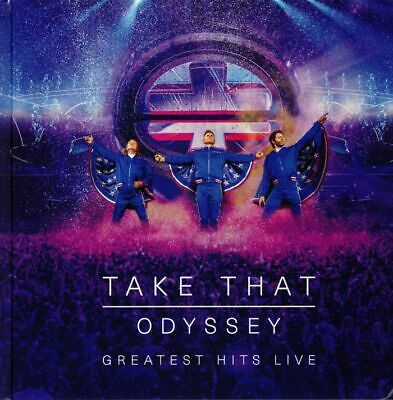 TAKE THAT - Odyssey: Greatest Hits Live - CD (CD+DVD)