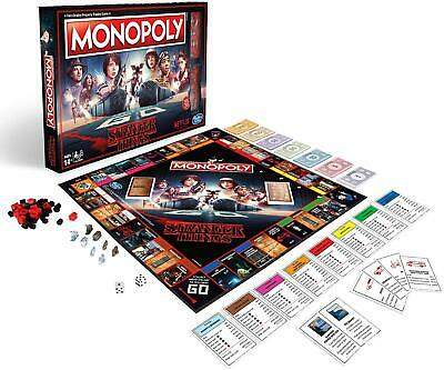 Stranger Things Special Edition Monopoly Board Game - VERY SLIGHT DAMAGE TO BOX