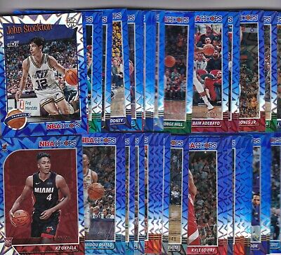 2019-20 19-20 Hoops Nba Blue Explosion Parallel #/49 Pick Your Player