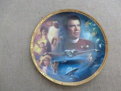Hamilton Collection Star Treck   Movies Collection 1V plate 1441A Voyage Home