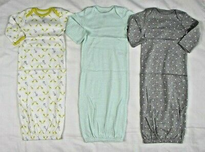 Simple Joys by Carters Baby Girls 3-Pack Cotton Sleeper Gown