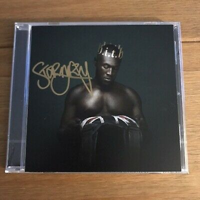 Stormzy - HEAVY IS THE HEAD SIGNED CD  autographed