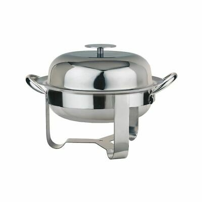 World Tableware MCD-8 S/S 45 Ounce Round Chafing Dish