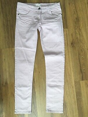 Alive Girls Lovely Pastel Pink Skinny Trousers Age 12yrs