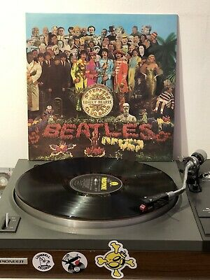 THE BEATLES Sgt Peppers Lonely Hearts Club Band 67 UK 1st VINYL LP