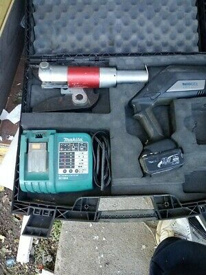 Nibco PC-280 Pro-press Hydraulic Battery Tool w/Battery Charger Case