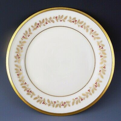 "Lenox China ETERNAL XMAS Bread Butter Plate 6 3/8"" Holiday Dining Entertaining"