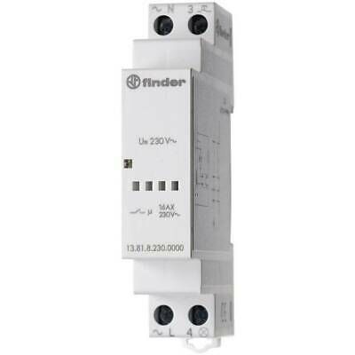 Interruttore impulso Guida DIN 1 pz. Finder  1 NA 230 V/AC 3700 13.81.8.230.0000