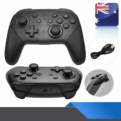 Bluetooth Wireless Pro Controller Gamepads for Nintendo Switch + Charging Cable