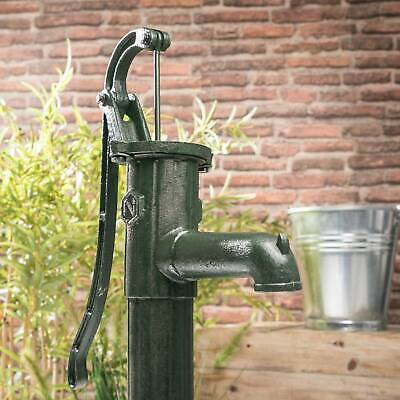 Garden Manual Water Pump Antique Style Cast Iron Hand Operated Well Pump